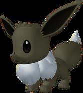 Shiny Eevee 3D