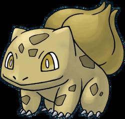 001 Bulbasaur RT Gold