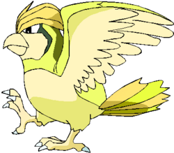 017 Pidgeotto OS3 Shiny