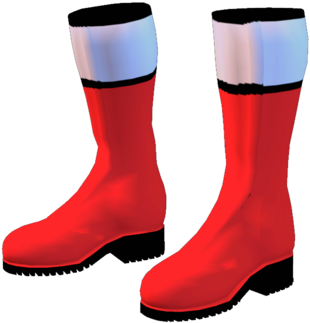 Time Force Red Boots