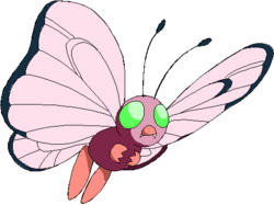 012 Butterfree OS3 Pink Shiny