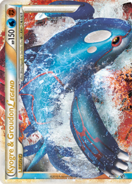 Kyogre & Groudon LEGEND U87