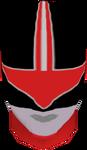 TF Red Helmet Front