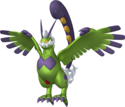 641 Tornadus Therian 3D Shiny