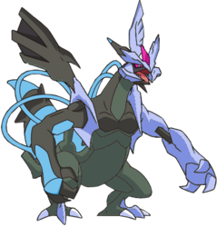 646 Kyurem Black Activated BW Shiny