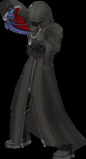Riku-Ansem (Cloaked) KHII
