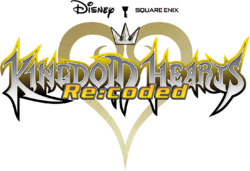 Kingdom Hearts RE Coded Title
