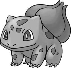 001 Bulbasaur RT Silver