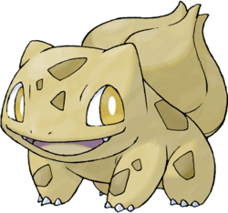 001 Bulbasaur Gold