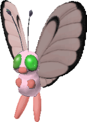 012 Butterfree PS Pink Shiny