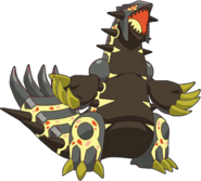 Primal Groudon XY2 Shiny