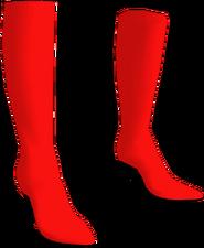 Supergirl Alpha High Heels1