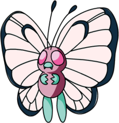 012 Butterfree OS1 Pink