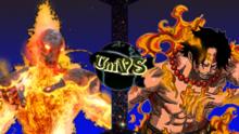 Cinder vs Portgas D. Ace