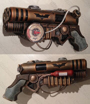Batman-steampunk-pistol-nerf-like-blaster-nerfenstein