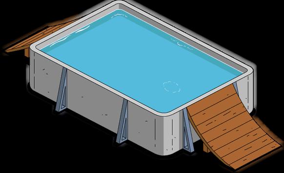 Piscine de la mort wiki les simpson springfield for Liner piscine transparent