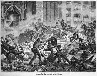 St Mery barricade June 1832