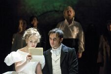 Katie-Hall-as-Cosette-Gareth-Gates-as-Marius