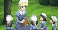Teenage Cosette with Younger Girls