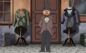 Baron du Thénard Disguise