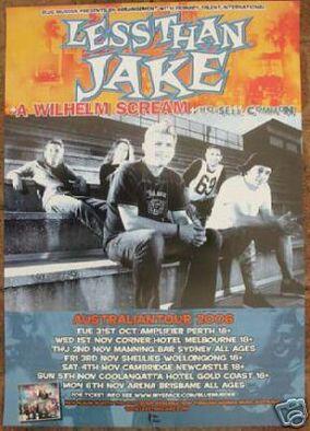 Australian Tour 2006