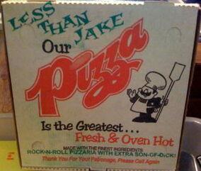 Rock N Roll Pizzeria Box
