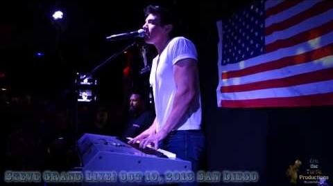 Steve Grand Live in San Diego on Oct 19, 2013