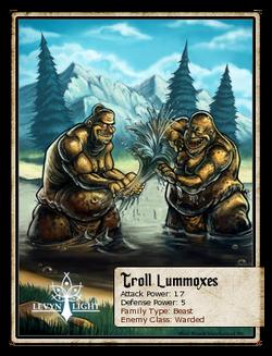 Troll Lummoxes