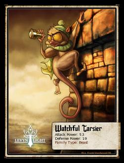 Watchful Tarsier