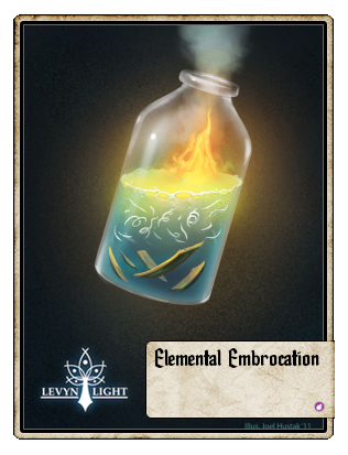 Elemental Embrocation