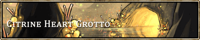Location banner Citrine Heart Grotto