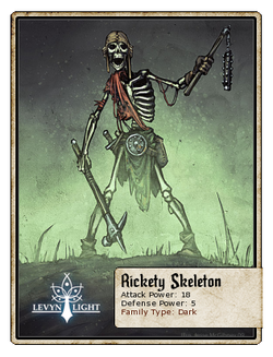 Rickety Skeleton
