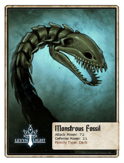 Monstrous Fossil