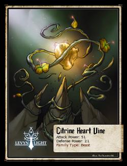Citrine Heart Vine