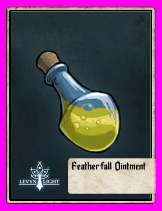 Featherfall Ointment