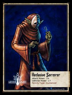 Reclusive Sorcerer