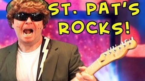 Liam The Leprechaun St. Patrick's Day Rocks!!!