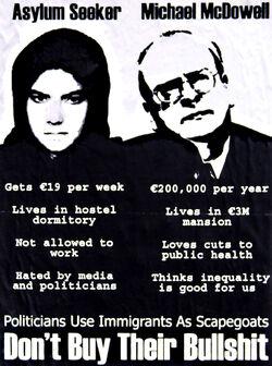 Irish Immigrant Poster