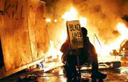 A race riot