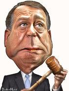 John Boehner - Caricature