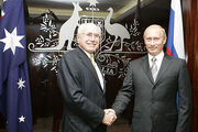 Vladimir Putin with John Howard-1