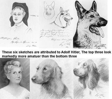 Hitler art study 1