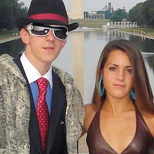 James O'Keefe and Hannah Giles