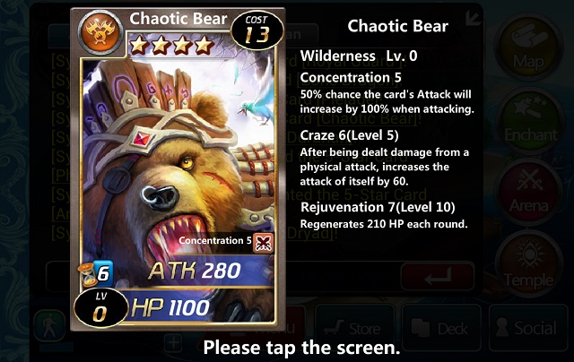 Chaotic Bear