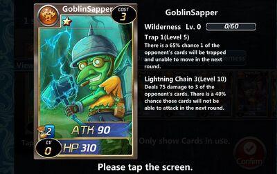 Goblin Sapper