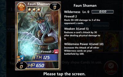 Faun Shaman