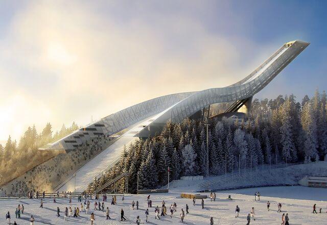 File:Holmenkollen Ski Jumping Hill .jpg