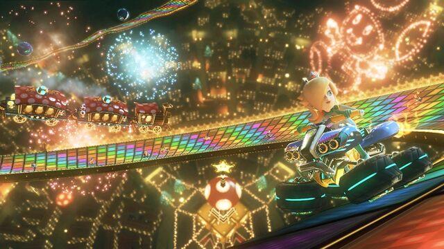 File:Mario kart 8 rainbow road.jpg