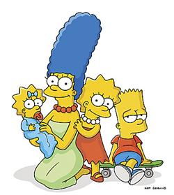 File:Marge, Maggie, Lisa & Bart.png