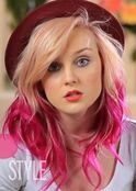 342px-Perrie-edwards-blonde-pink-hair